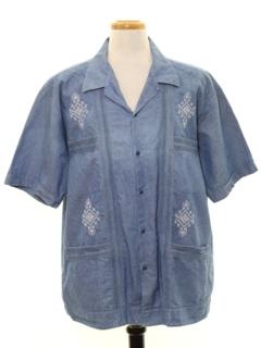 13355a85 Mens Vintage Guayabera Shirts at RustyZipper.Com Vintage Clothing