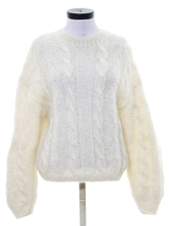 1980's Womens Totally 80s Mohair Sweater