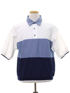 1980's Mens Pullover Golf Style Shirt