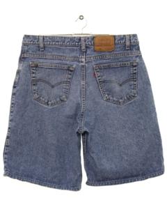 1980's Mens Denim Jeans Shorts
