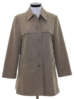 1970's Womens Mod Car Coat Jacket