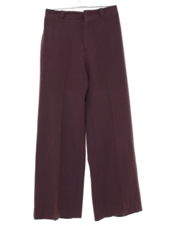 1970's Womens Wool Bellbottom Pants