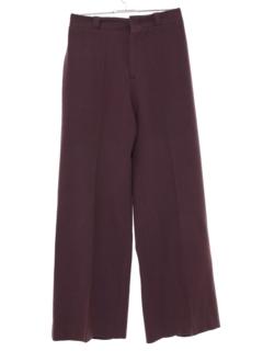 1970's Womens Wool Bellbottom Pants