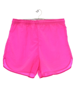 1980's Unisex Neon Totally 80s Shorts