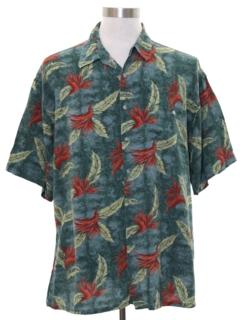 1990's Mens Hawaiian Style Shirt