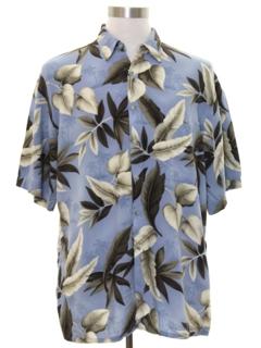 1990's Mens Rayon Hawaiian Style Shirt