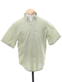 1960's Mens Mod Pullover Shirt