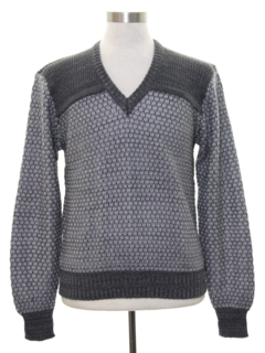 1970's Mens Mod Sweater