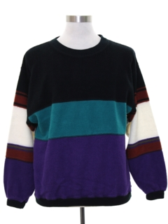 1980's Mens Totally 80s Knit Shirt