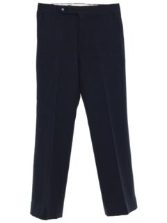 1970's Mens Mod Pinstriped Slacks Pants