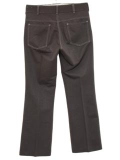 1970's Mens Mod Flared Jeans-Cut Pants
