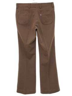 1970's Mens Knit Jeans-Cut Pants