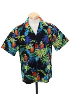 1990's Mens or Boys Hawaiian Shirt