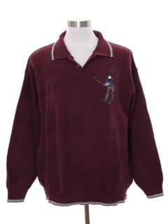 1990's Mens Golf Sweater