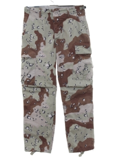 1990's Mens NATO Uniform Camouflage Pants