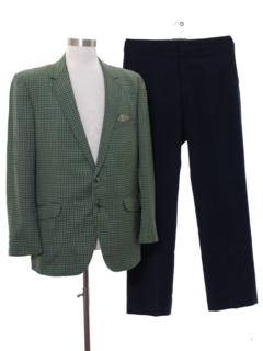 1960's Mens Mod Combo Suit