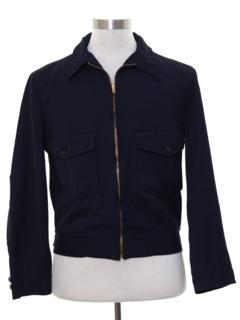 1950's Mens Mod Zip Jacket