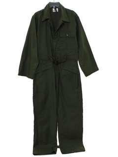 1970's Mens Army Issue Military Jumpsuit