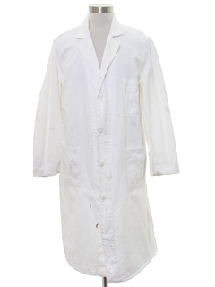 1950's Mens Lab Coat
