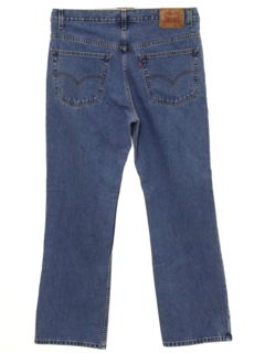 1990's Mens Levis 517 Bootcut Flared Denim Jeans Pants