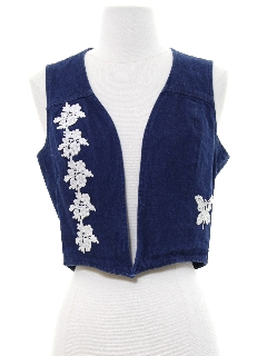 88911342cd588 Women's Vests: authentic vintage 1980's vests - shop at RustyZipper.Com
