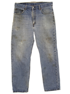 1990's Mens Grunge Levis 550 Denim Jeans Pants