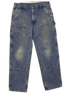 1990's Mens Grunge Cargo Denim Jeans Pants