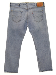 1990's Mens Grunge Levis 501s Straight Leg Denim Jeans Pants
