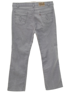 1980's Mens Straight Leg Jeans-cut Pants