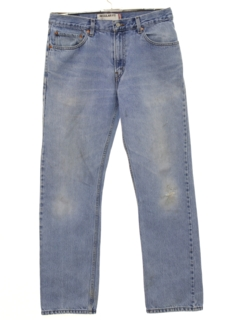 1990's Mens Grunge Straight Leg Denim Jeans Pants