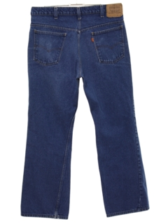 1970's Mens Straight Leg Denim Jeans Pants