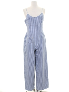 1980's Womens Totally 80s Style Romper Jumpsuit