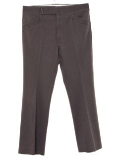 1970's Mens Flared Mod Leisure Style Golf Pants