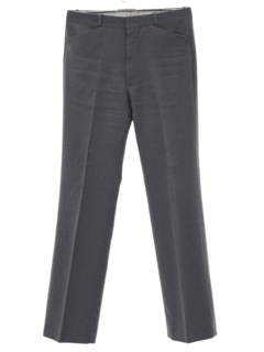 1970's Mens Flared Mod Golf Style Leisure Pants