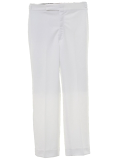 1970's Mens Slightly Flared Leisure Style Disco Pants