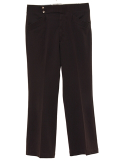 1970's Mens Mod Leisure Style Flared Golf Pants