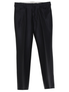 1980's Mens Rockabilly Western Style Pleated Slacks Pants