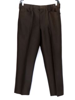 1980's Mens Western Style Rockabilly Pleated Slacks Pants