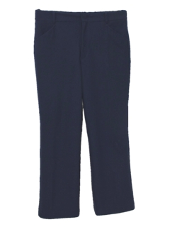 1970's Mens Flared Mod Leisure Pants