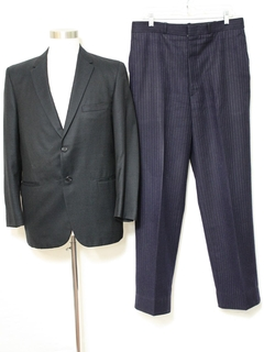 1960's Mens Contrasting Combo Mod Suit