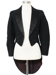1930's Mens Formal Tailcoat Tuxedo Jacket