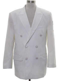 1980's Mens Totally 80s Tuxedo Jacket