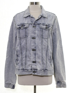 1990's Mens Faded Denim Jacket