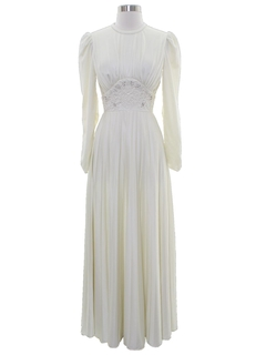 1970's Womens Cocktail or Wedding Dress
