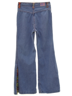 1970's Unisex Bellbottom Jeans Pants