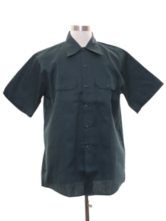 1970's Mens Mod Work Shirt