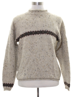 1980's Unisex Wool Ski Sweater