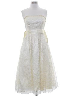 1960's Womens Cocktail or Wedding Dress