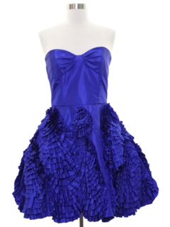 Vintage 1980s Prom Dresses At Rustyzippercom Vintage Clothing