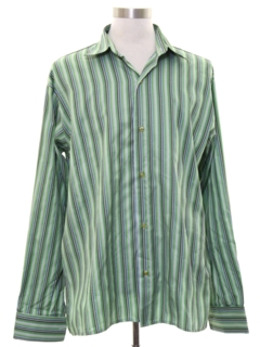 1960's Mens French Cuff Sport Shirt